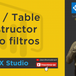 DAX Studio - Row/Table Constructor como filtros