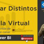 Power BI (desktop) - Contar Distintos condicional com Tabela Virtual