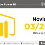 Novidades do Power BI - Março de 2018