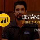 Como calcular a distância entre dois pontos?